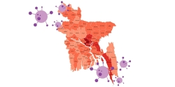 করোনায় আক্রান্তের সংখ্যা ৯০হাজার ছাড়ালো ১০০তম দিনে