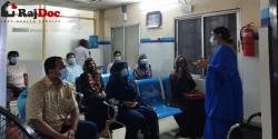 হেপ্টা হেলথ্ কেয়ারে Workshop on Relaxation অনুষ্ঠিত